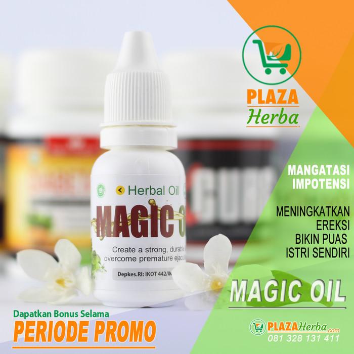 Magic Oil - Obat perkasa, minyak oles herbal atasi disfungsi-ereksi