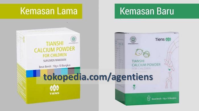 Penggemuk Badan Alami Herbal Tiens Nutrient Calcium + Zinc