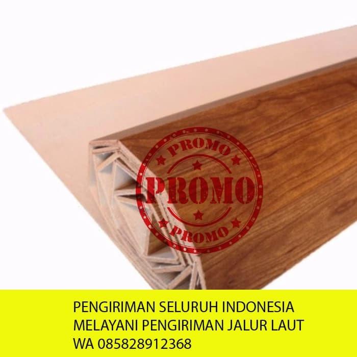 Jual Tikar Kayu Karpet Plywood Coklat Muda 182x245 Kota