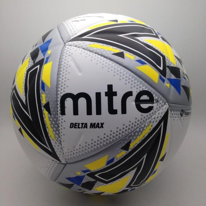 harga Bola soccer mitre delta max l14p fb ball white yellow 5bb1112wef ori Tokopedia.com