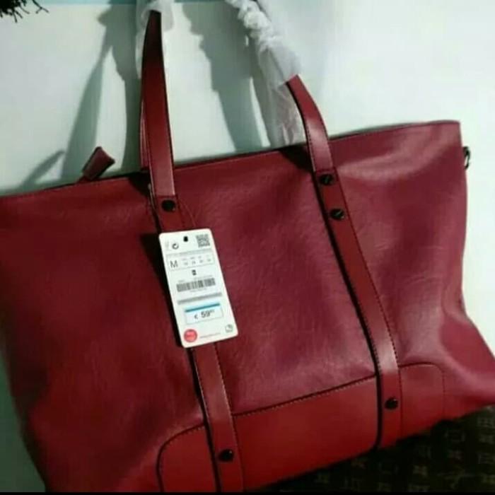 Jual Tas Zara basic original tas wanita branded tas wanita import ... 39dce60479