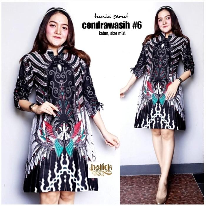 Jual Dress Batik Indrawasih Baju Batik Atasan Wanita Tunik Batik Muslim Cokelat Muda Xl Kota Surakarta Metta Fashion Tokopedia