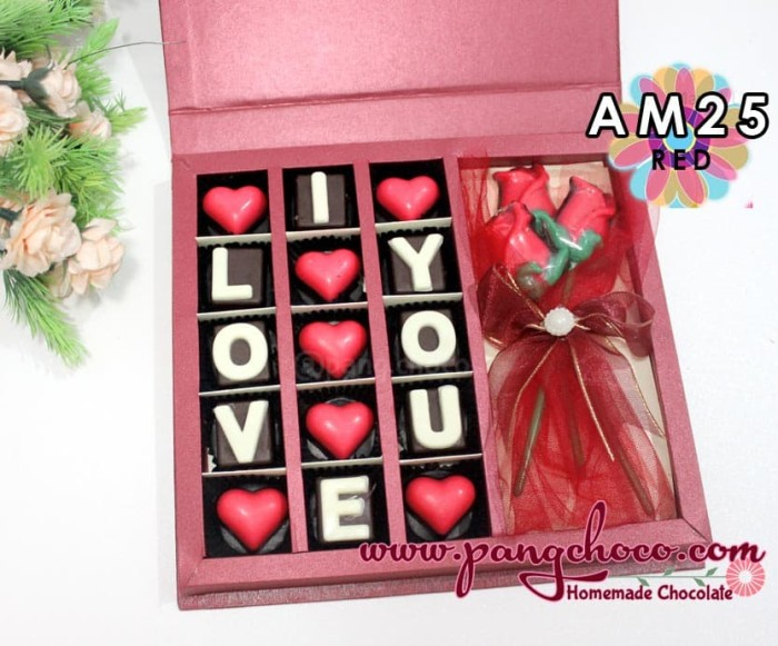 Jual Pangchoco Cokelat Valentine Unik Untuk Kado Pacar Warna Merah Kota Surabaya Pangchoco Toko Coklat Tokopedia