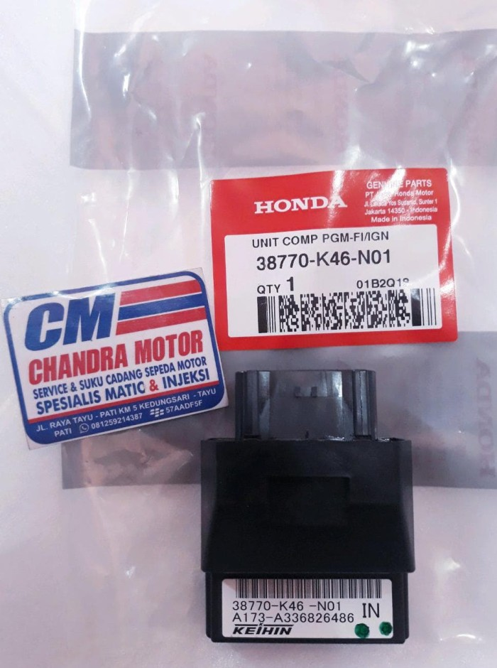 Kode Spare Part Motor Honda Beat