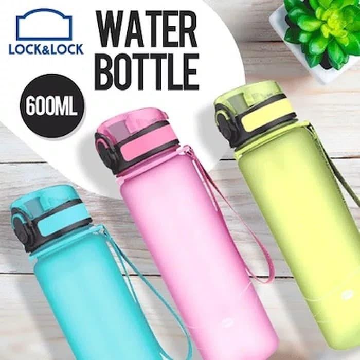 Lock&lock & lock n lock locknlock 600 ml one touch cap bottle botol