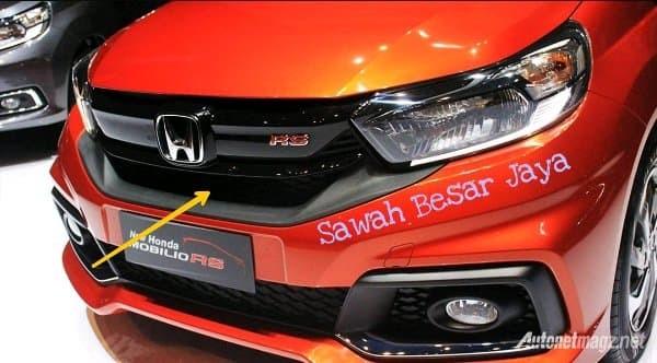 Jual Base Gril Grill Grille Depan Honda Mobilio Rs Facelift 2017