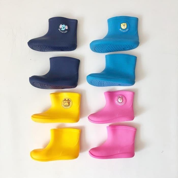 harga Sepatu boots hujan karet anak motif animal size 31-35 Tokopedia.com