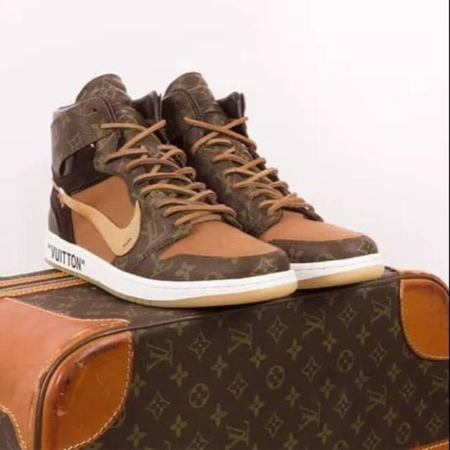 reputable site 62a0e 6168b Jual sepatu sport MID Nike Air Jordan 1 Retro LV x Off White Perfect Kick -  Kab. Tangerang - adelia 33 | Tokopedia