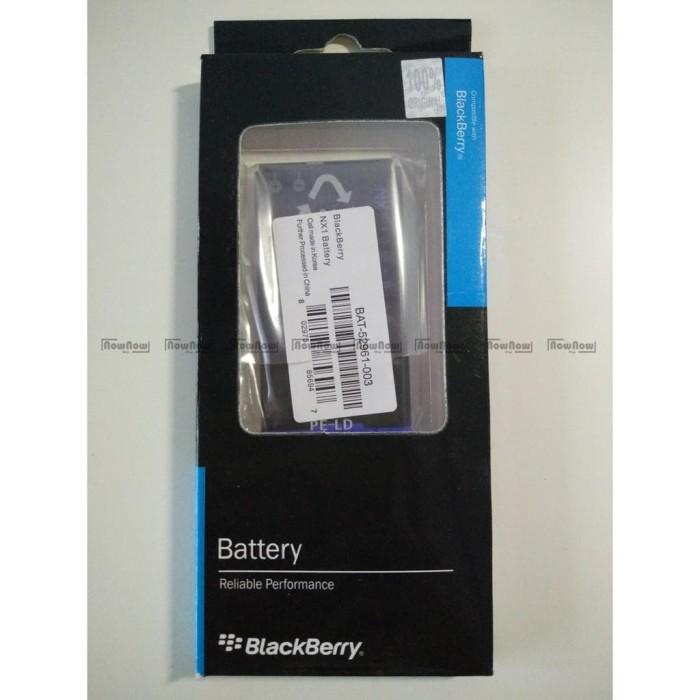 Baterai Blackberry Q10 NX1 Original 100% BB Batre Battery Batu Batrai