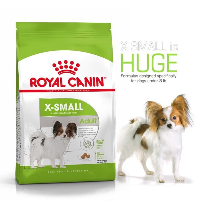 harga Dogfood royal canin x-small adlt 15kg Tokopedia.com