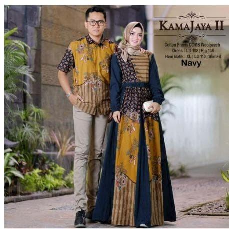 Jual Baju Batik Couple Pasangan Keluarga Muslim Gamis Pesta Couple 3 Nuvrialprakarsa62 Tokopedia