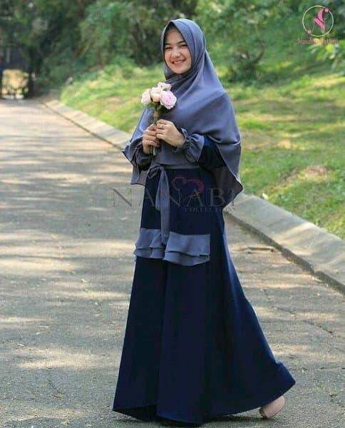 Jual Baju Muslim Gamis Wanita Baju Muslim Kerudung Zainab Syari Baju Jakarta Barat Barokah Shop 1 Tokopedia