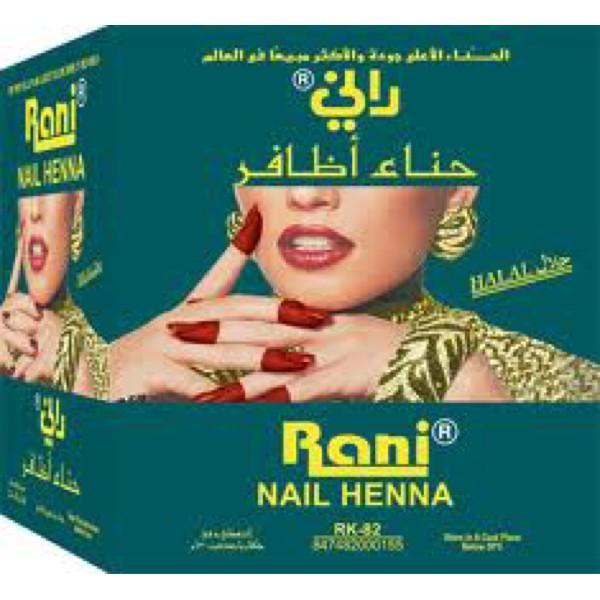 Jual Rani Pacar Kuku Asli Arab 1 Box Warna Hitam Random Shop J