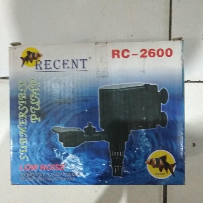 Jual aquarium ikan pompa celup power head recent rc 2600 ...