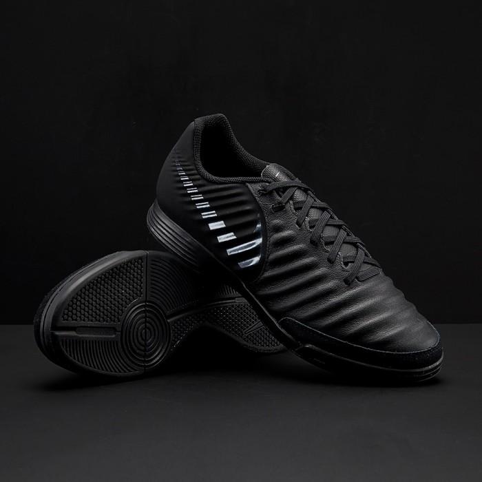97435b16118 Jual Sepatu Futsal Nike Tiempo Legend VII Academy IC - Black Black ...