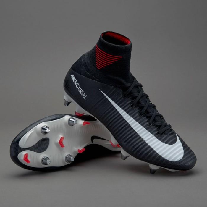 purchase cheap ea697 e751f Jual Sepatu Bola Nike Mercurial Superfly V SG-Pro - Black/White/Universi -  Kab. Cilacap - A.T.P SPORTS | Tokopedia