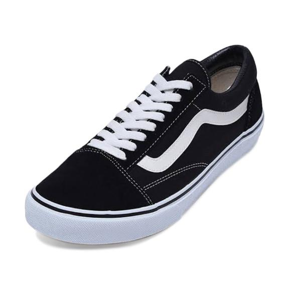 08e51bf2 Jual Vans U Old Skool Canvas Sneakers Pria - Black/True White ...