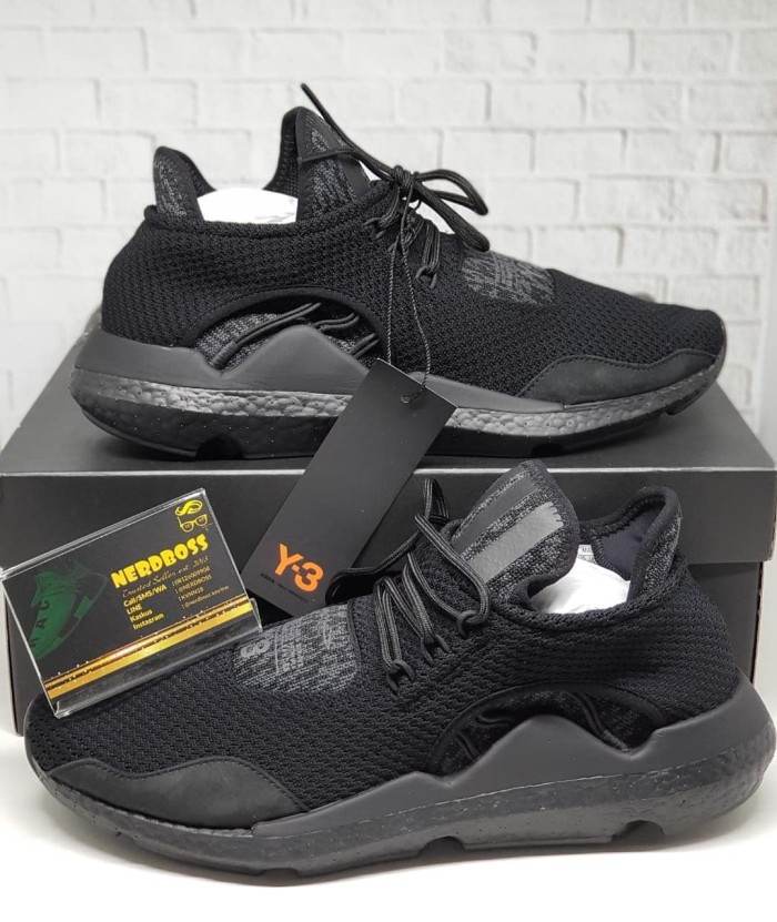 a29d4e063c124 Adidas Y3 Saikou Triple Black Bukan NMD   Yeezy. BNIB 100% ORIGINAL !!