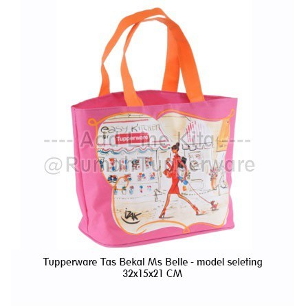 Tupperware Tas Bekal Miss Belle - model seleting (Terbaru)