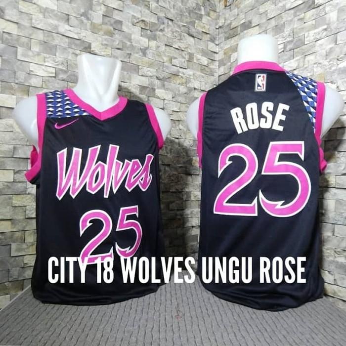 low priced 316c4 4a300 Jual JERSEY NBA SWINGMAN REVO MINNESOTA TIMBERWOLVES DERRICK ROSE - Kab.  Kuningan - ON COURT | Tokopedia