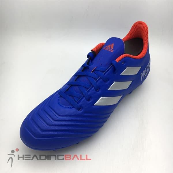 0d2746800b11 Sepatu Bola Adidas Original Predator 19.4 FXG Blue Silver BB8113 BNIB