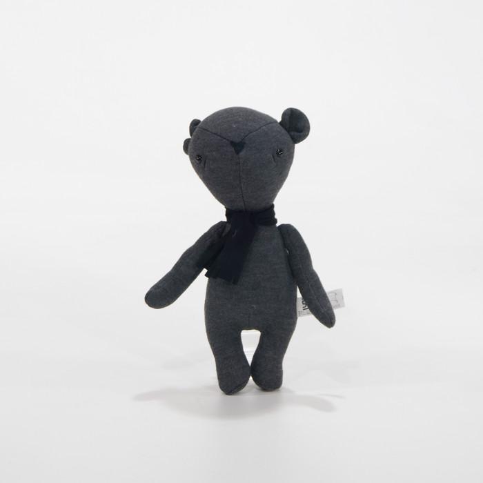 harga Cribcot soft toy - ben the bear dark grey - abu-abu Tokopedia.com