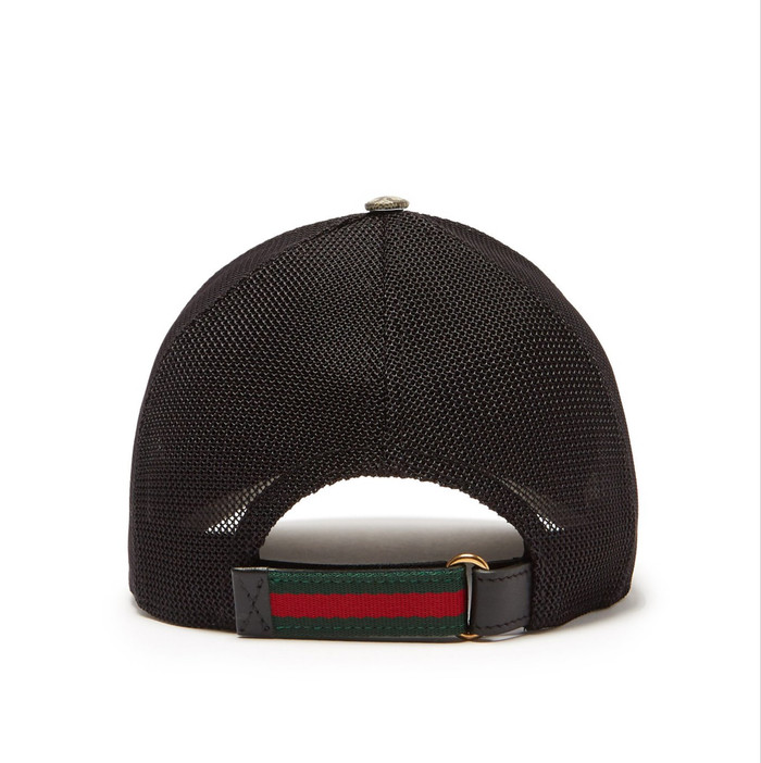 68bd3aebb351c4 Jual Gucci GG Supreme Cap - Kingsnake-print Mesh - DKI Jakarta ...