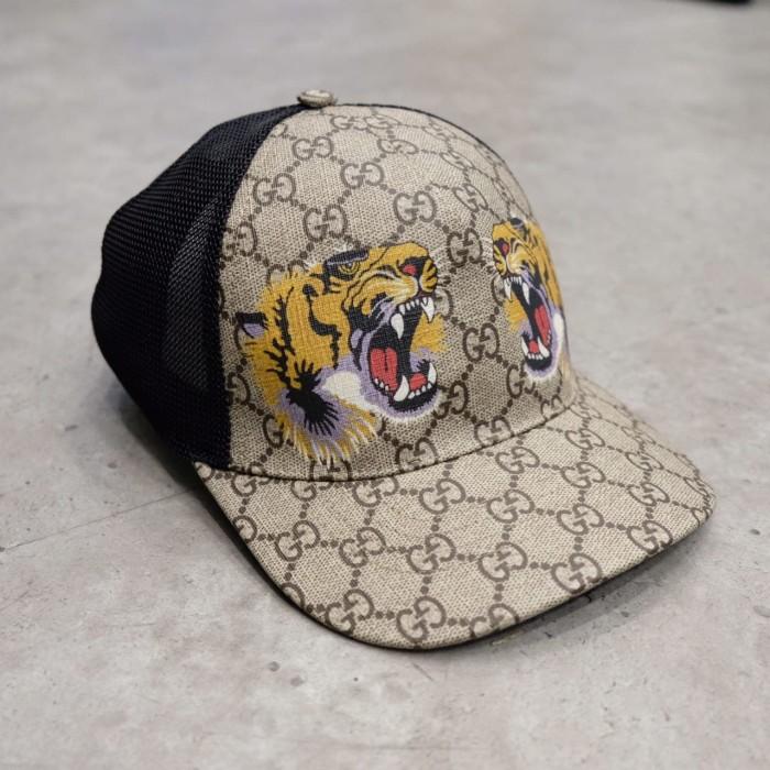 cd3aaa22128e0 Jual Gucci GG Supreme Cap - Tiger-print Mesh - Kota Administrasi ...