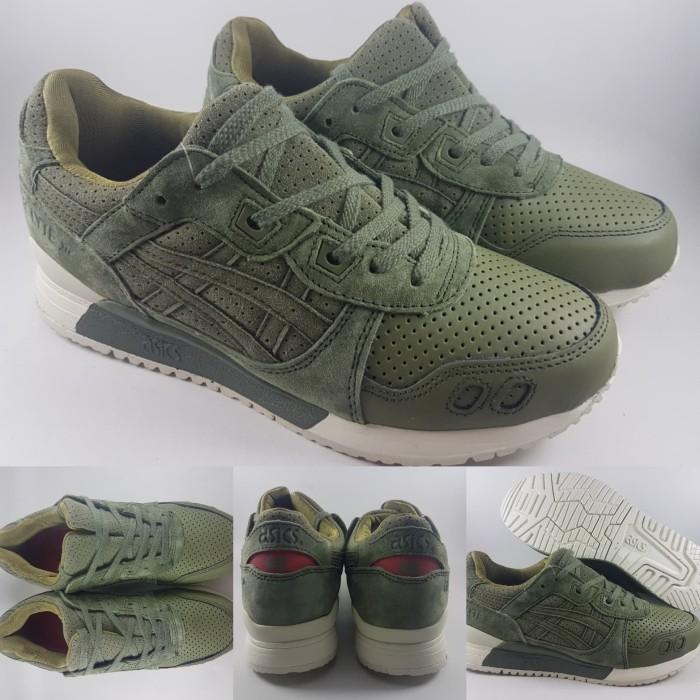 Jual Sepatu Kets Asics Gel Lyte III Army Green Hijau - DV Store Girl ... adbcb3727