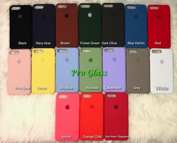 official photos 2d2e0 2b2a5 Jual C201 Iphone 7/8 Original Apple Silicon Leather Case Silicone - Kota  Tangerang - Pro Glass | Tokopedia