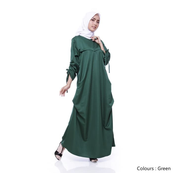 Jual Dres busana baju gamis syari Muslim Wanita Dewasa Terbaru TN074 ... 27281458fc