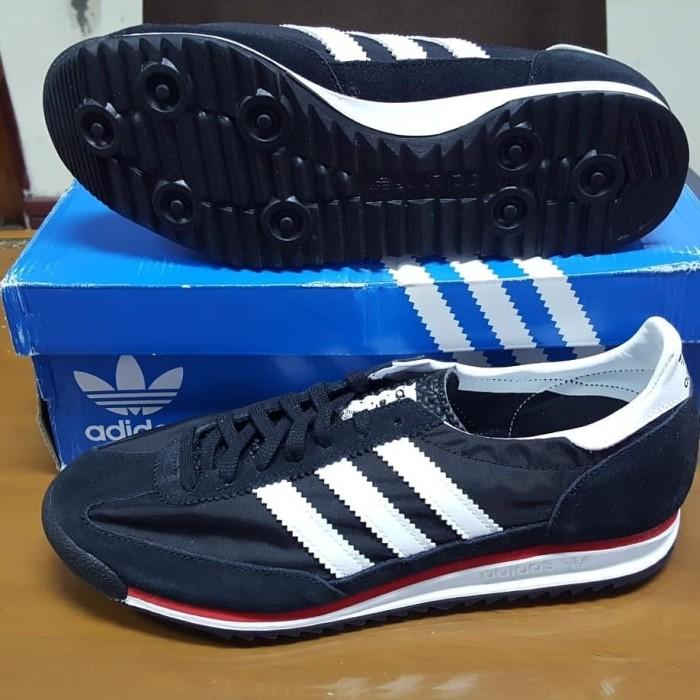 nouveau style dad14 db04b Jual Adidas SL 72 Black & White - Kota Palu - RoyalSneaker70 | Tokopedia