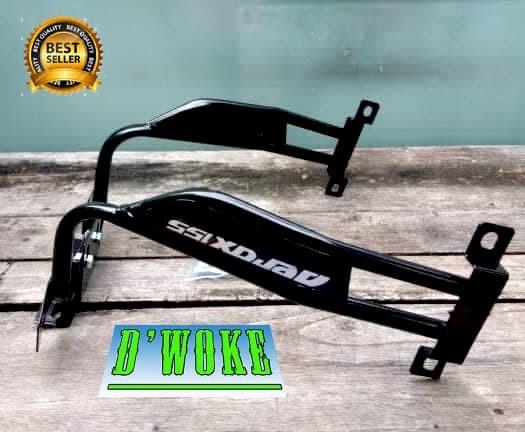 Bracket Dudukan Plat Nomor Aerox 155 Variasi Motor Yamaha Braket