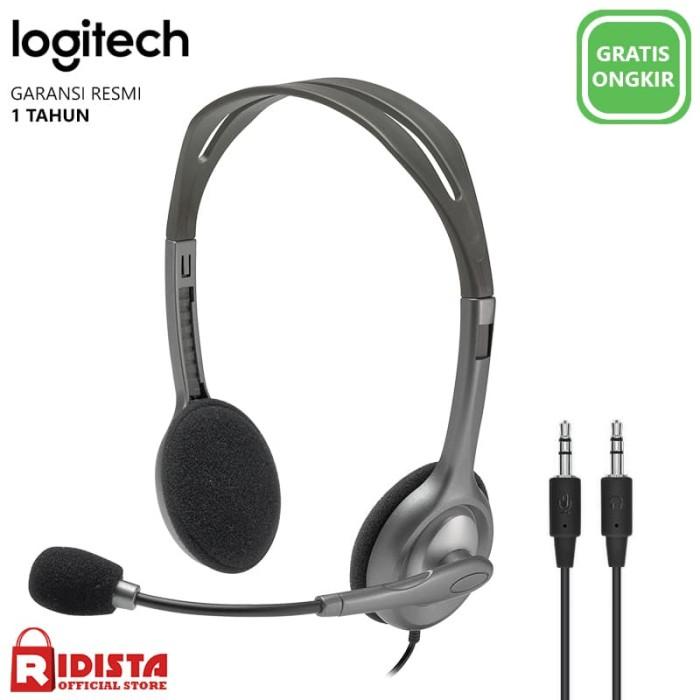Foto Produk Logitech Stereo Headset H110 - L052 dari Ridista Official Store