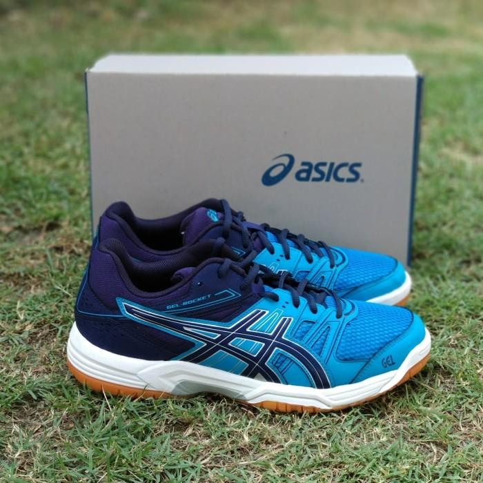 Jual Sepatu Asics Gel Rocket Original Badminton Volly Indoor Sport ... eb64a5ba3f