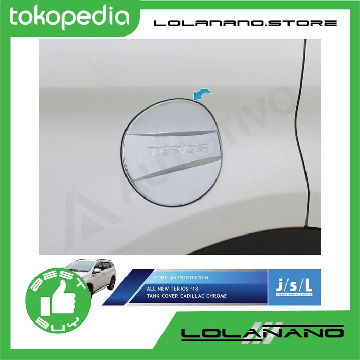 JSL Tank Cover Tutup Tangki Bensin All New Terios 2018 Model Cadilac