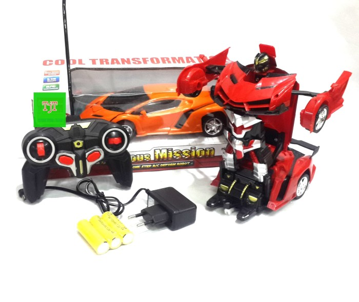 MAINAN REMOTE CONTROL LAMBORGHINI TRANSFORMER CAR RC CHARGER/ MOBIL RC