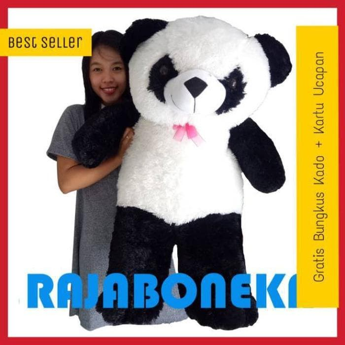 Boneka Panda Jumbo Hitam Putih - Katalog Harga Terbaru dan Terlengkap a206ec91f7