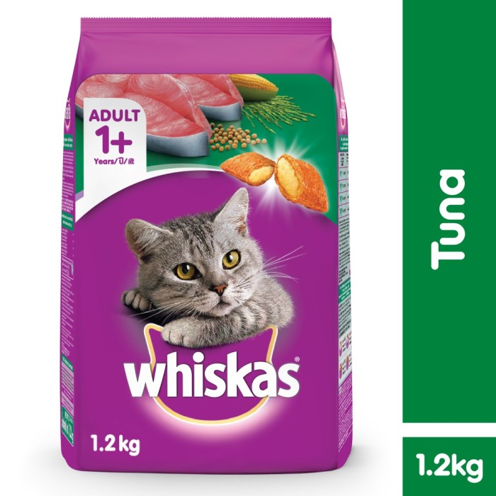 Whiskas Dry 12kg Makanan Kucing Kering rasa Tuna