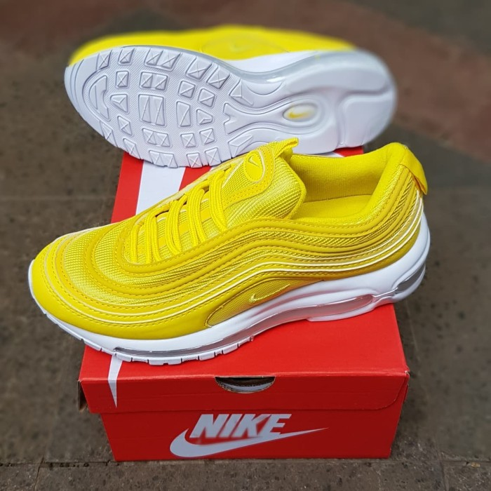 premium selection f5773 2f9a2 Nike Air Max 97 Yellow Lemonade Women Premium Quality