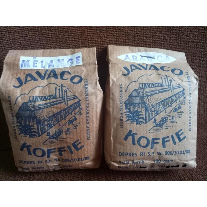 Jual Kopi Javaco Bandung Arabica Robusta 100 Gr Kopi