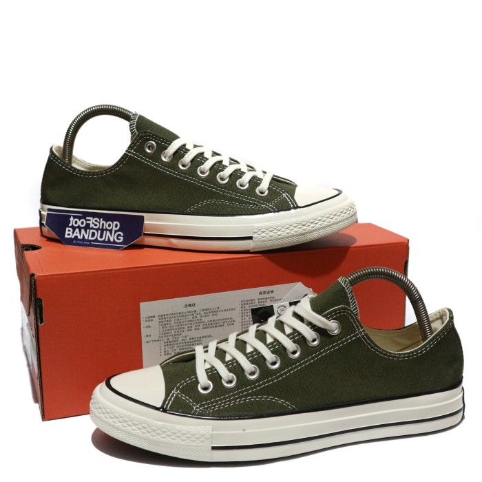 9b64a9438eac Jual Sepatu Converse All Star CT 70s Low Herbal Green 37 - 44 Mirror ...