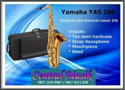 harga Saxophone yamaha yas 280 gold original dan garansi resmi Tokopedia.com