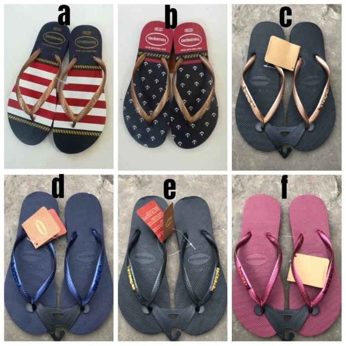 28c1fca1d Jual Berkualitas Havaianas Metal Sandal Jepit Fashion Wanita - dana ...