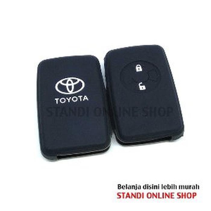 Kondom Kunci Silikon Remote Sarung Remot Toyota Yaris Vios TRD la