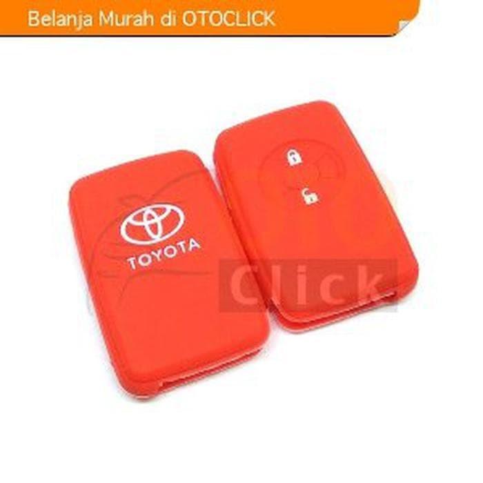 Kondom Kunci Silikon Keyshirt Remote Sarung Toyota Yaris Vios TRD