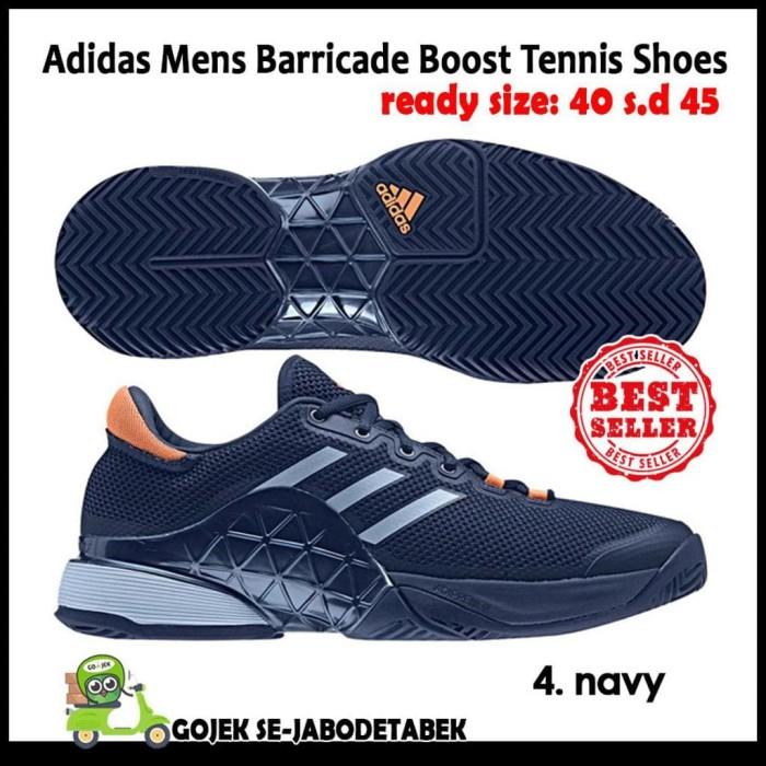 Jual Adidas Mens Barricade Boost 2018 Tennis Shoes. Sepatu Tennis ... a39f99a5e8
