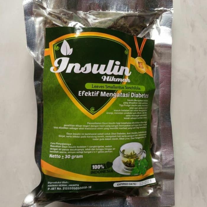 Teh Herbal Seduh Daun Insulin / Yakon Untuk Diabetes