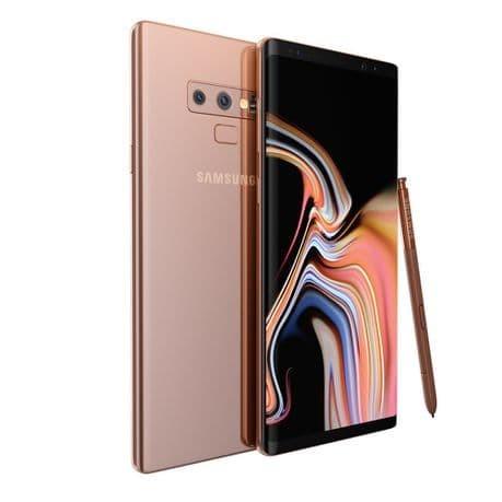 Samsung galaxy note 9 [8gb/512gb] garansi 1 tahun - copper