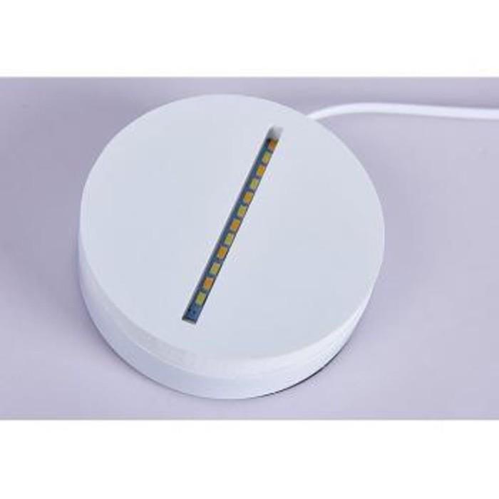 Lampu 3D LED Transparan Design Tengkorak Putih Limited